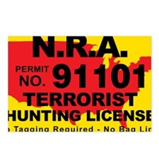 TH-License-NRA Postcards (Package of 8)