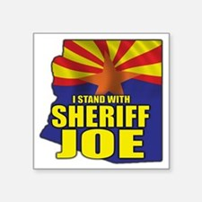 "sheriff_joe_shirt_cp Square Sticker 3"" x 3"""