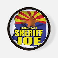 sheriff_joe_shirt_cp Wall Clock