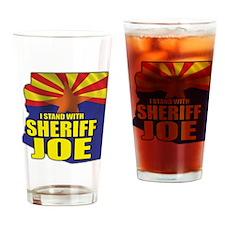 sheriff_joe_shirt_cp4 Drinking Glass