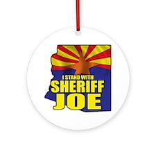 sheriff_joe_shirt_cp4 Round Ornament