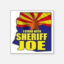 "sheriff_joe_shirt_cp2 Square Sticker 3"" x 3"""