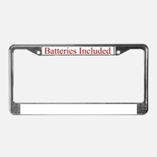BatteriesUndies License Plate Frame