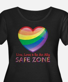 Safe Zone - Ally Plus Size T-Shirt