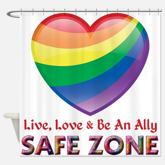 Safe Zone - Ally Shower Curtain