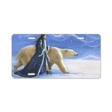 SNOW PRINCESS_POSTER Aluminum License Plate