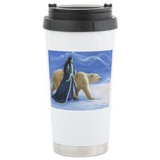 SNOW PRINCESS_POSTER Travel Mug