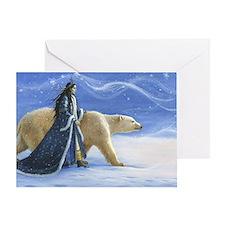 SNOW PRINCESS_POSTER Greeting Card