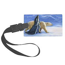 SNOW PRINCESS_POSTER Luggage Tag