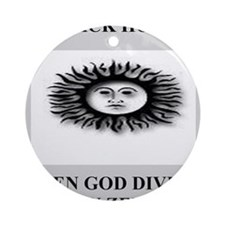 funny black hole joke gifts t-shirts Ornament (Rou