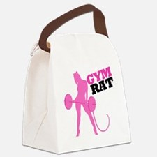 gym-rat Canvas Lunch Bag