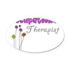 Occupational Therapist Oval Car Magnet