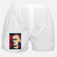 ART Faith Christmas ornament Boxer Shorts