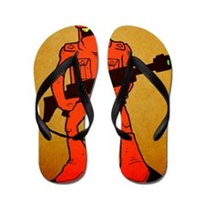 assassin wizards Flip Flops