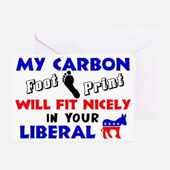 carbonnew Greeting Card