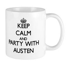Keep Calm and Party with Austen Mugs