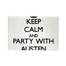 Keep Calm and Party with Austen Magnets