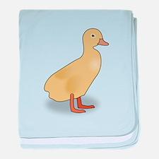 Duckling baby blanket