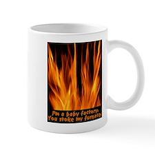 Flaming baby factory Mug