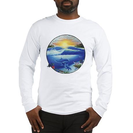 3-dolphans-copy Long Sleeve T-Shirt