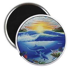3-dolphans-copy Magnet