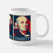 ART 14 x 6 Faith Hope Charity Mug