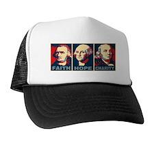 ART 14 x 6 Faith Hope Charity Trucker Hat