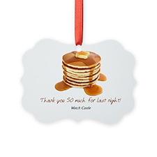 2-abc pancakes Picture Ornament