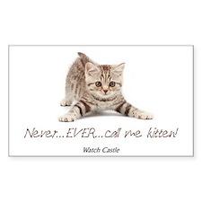 2-abc kitten Bumper Stickers