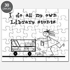 library stunts Puzzle
