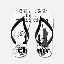 stop waiting for change from pol Flip Flops