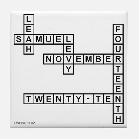 levy Tile Coaster