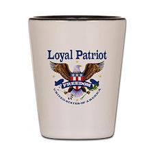 Loyal Patriot Shot Glass