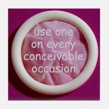 Every conceivable occasion Tile Coaster
