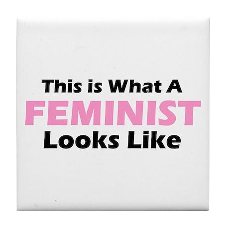 Feminist Tile Coaster