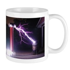 Huge Tesla Coil Mug
