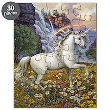 UnicornRainbow Valley_card Puzzle