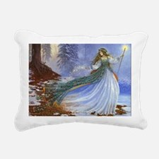Spring Fairy Rectangular Canvas Pillow