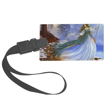 Spring Fairy Large Luggage Tag