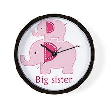 Big Sister Elephant Wall Clock