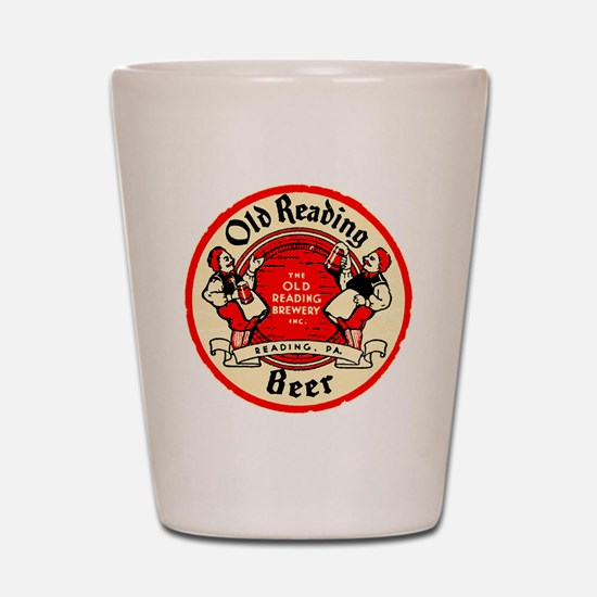 oldreadingbeer Shot Glass