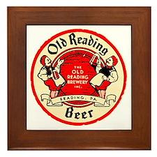 oldreadingbeer Framed Tile