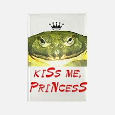 Kiss Me, Princess (B) Rectangle Magnet