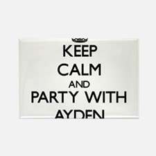 Keep Calm and Party with Ayden Magnets
