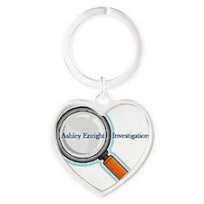 AELogo Heart Keychain