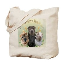 Sharpei Cant Have Just One Tote Bag