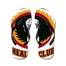 AGENT ORANGE HEALTH CLUB Flip Flops