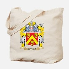 Arturo Coat of Arms - Family Crest Tote Bag
