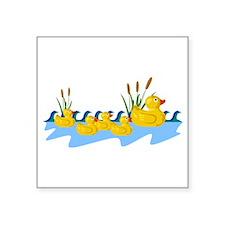 Rubber Duck Family Sticker