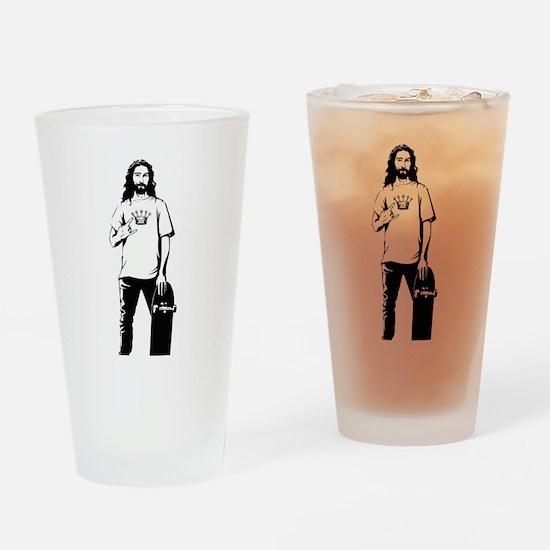 MyGod-skate5 (2) Drinking Glass